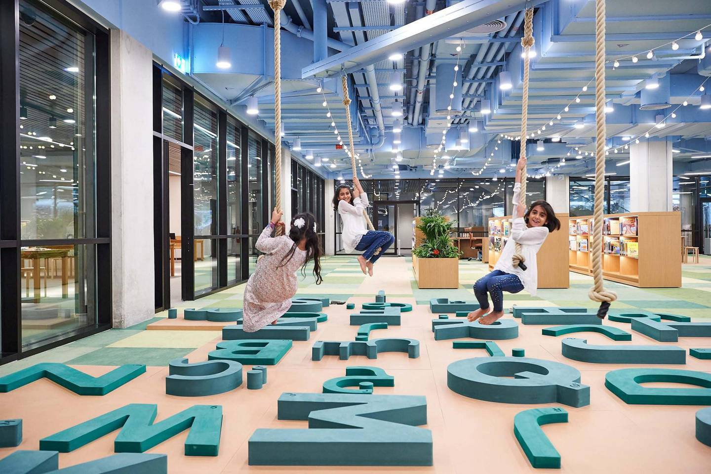 Abu Dhabi Children's Library. Courtesy Department of Culture and Tourism – Abu Dhabi