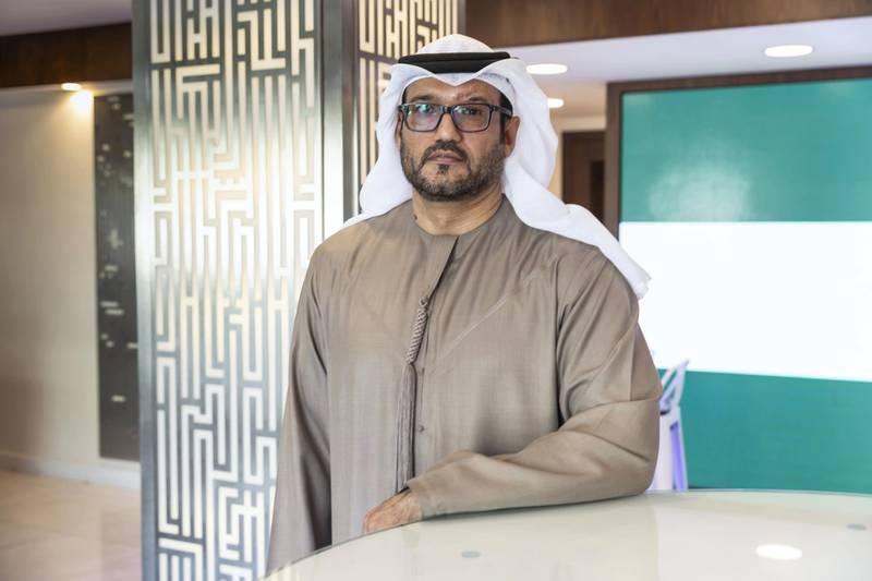DUBAI, UNITED ARAB EMIRATES. 17 FEBRUARY 2020. Colonel Saeed Al Qamzi, Head of Dubai police's Interpol department. (Photo: Antonie Robertson/The National) Journalist: Salam Al Amir . Section: National.