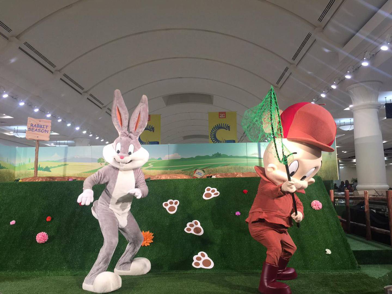 A handout photo of Bugs Bunny Show and Workshop at Deira City Centre (Courtesy: Majid Al Futtaim Malls) *** Local Caption ***  al11au-todo-toons.jpg