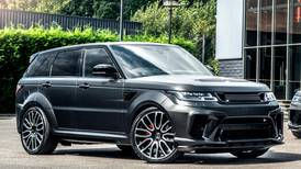 In pictures: a Range Rover Sport gets a 'volcanic rock satin' upgrade