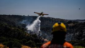 Portugal wildfire 'under control' but still burning