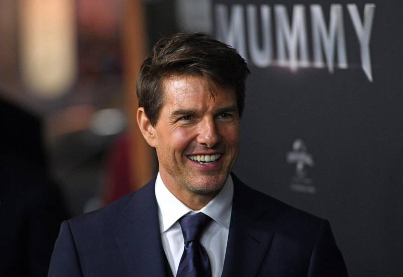 epa06577253 (FILE) - US actor Tom Cruise arrives at the Australian premiere of 'The Mummy' in Sydney, Australia, 22 May 2017 (reissued 03 March 2018). According to media reports, Tom Cruise was honored 'Worst Actor' for his 2017 performance in 'The Mummy' at the Golden Rasberry awards. The 38th Golden Raspberry Awards ceremony takes place 03 March 2018.  EPA-EFE/DAN HIMBRECHTS  AUSTRALIA AND NEW ZEALAND OUT