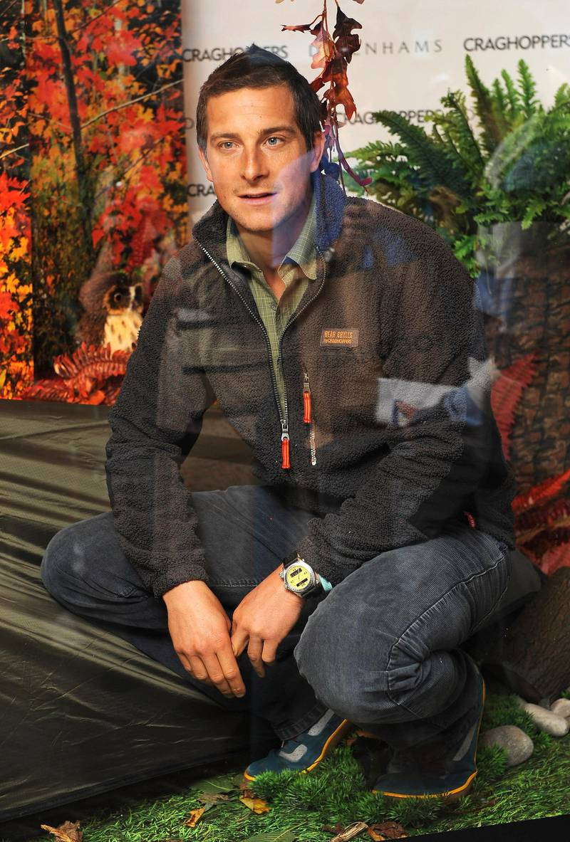 LONDON, ENGLAND - SEPTEMBER 04:  Bear Grylls attends photocall to launch Debenhams Free Sports initiative at Debenham's Oxford Street in London on September 4, 2009 in London, England.  (Photo by Ian Gavan/Getty Images)