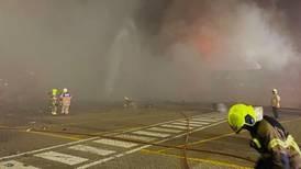 Minor injuries reported at Dubai port explosion as sailors flee blaze