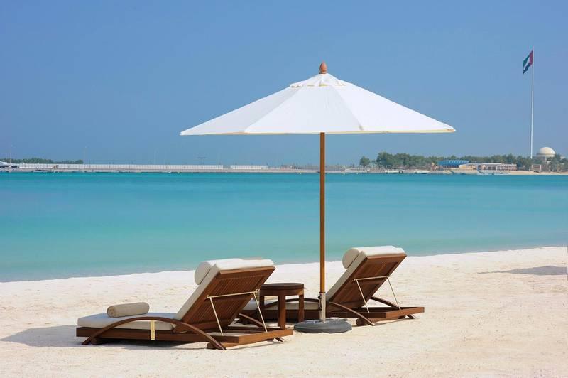 A handout photo of Nation Riviera Beach Club at The St. Regis Abu Dhabi (Courtesy: Nation Riviera Beach Club)