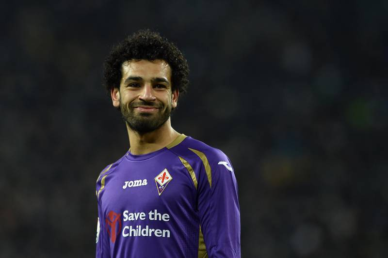 TURIN, ITALY - MARCH 05:  Mohamed Salah of ACF Fiorentina looks on during the TIM Cup match between Juventus FC and ACF Fiorentina at Juventus Arena on March 5, 2015 in Turin, Italy.  (Photo by Valerio Pennicino/Getty Images)
