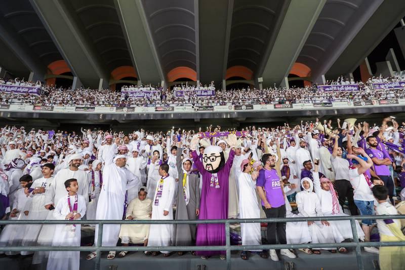 Abu Dhabi, UAE.  May 3, 2018.   President's Cup Final, Al Ain FC VS. Al Wasl.  Victor Besa / The NationalSportsReporter: John McAuley