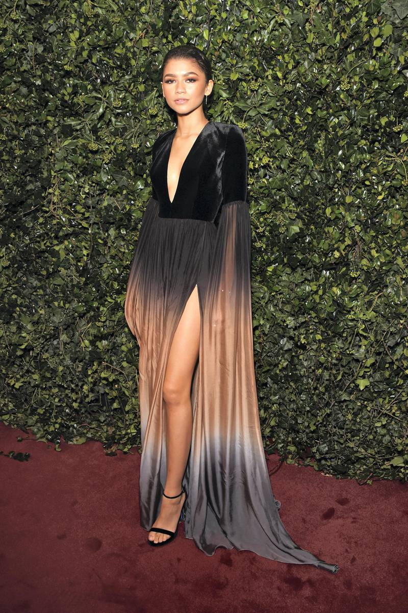 LONDON, ENGLAND - DECEMBER 03:  Zendaya attends the London Evening Standard Theatre Awards 2017 at the Theatre Royal, Drury Lane, on December 3, 2017 in London, England.  (Photo by David M. Benett/Dave Benett/Getty Images)
