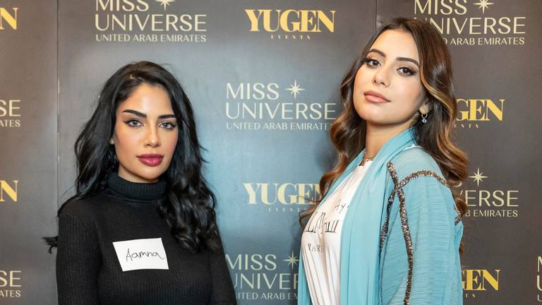 An image that illustrates this article Miss Universe UAE audition: glamour, joy and heartbreak