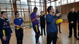 British PE teacher helping the visually impaired is shortlisted for Varkey prize
