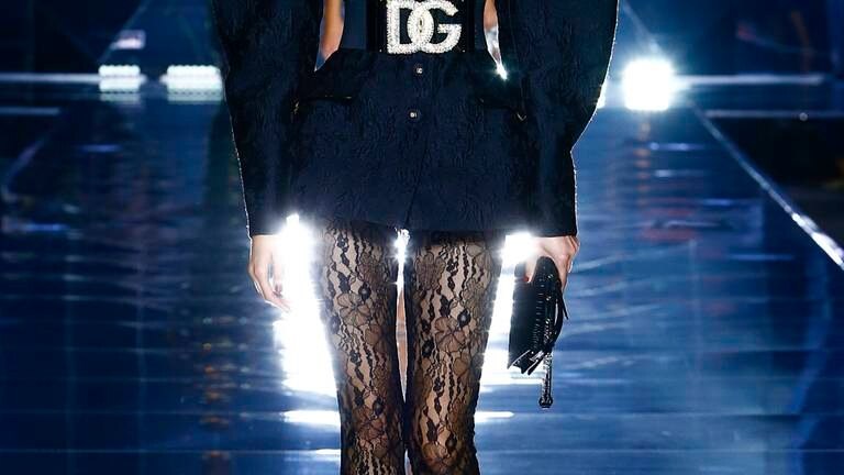 An image that illustrates this article Dolce & Gabbana, Giorgio Armani and Salvatore Ferragamo at Milan Fashion Week