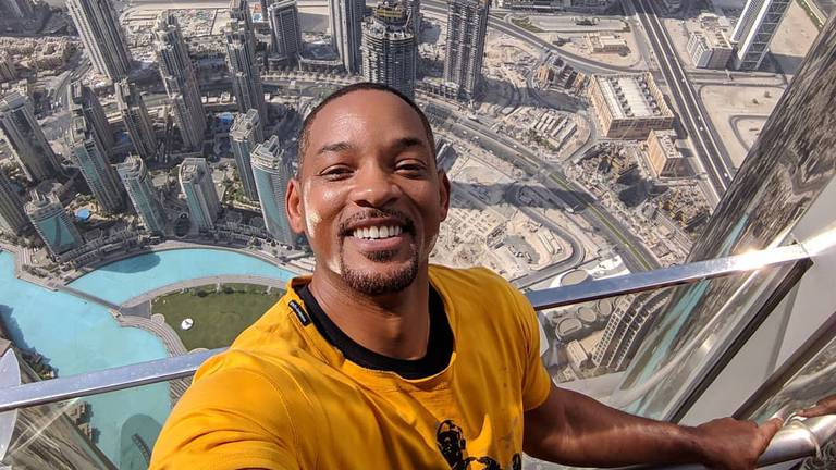An image that illustrates this article Will Smith's five best UAE moments as the actor turns 53