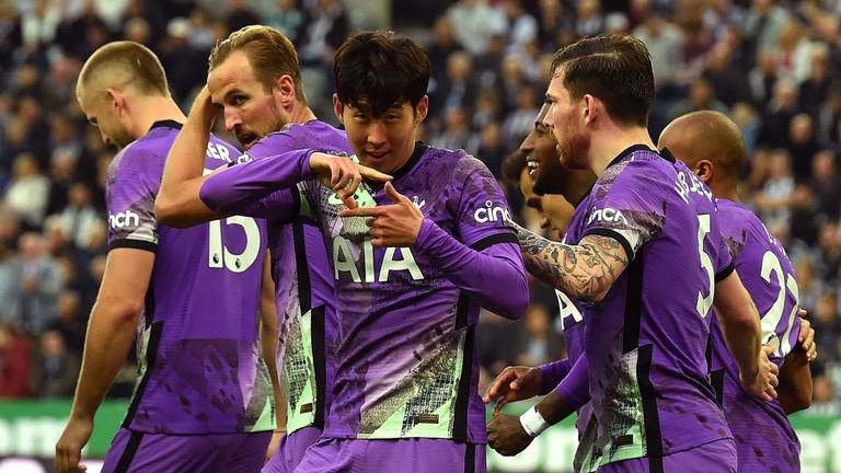 An image that illustrates this article Tottenham outclass Newcastle to spoil takeover party