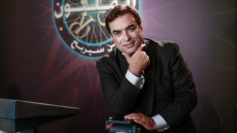 An image that illustrates this article Who is Lebanon's TV star-turned-minister George Kordahi?