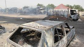 Militants kill at least 30 and abduct dozens in north-east Nigeria