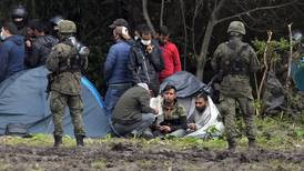 Migrants trapped on Belarus border in 'dire conditions'