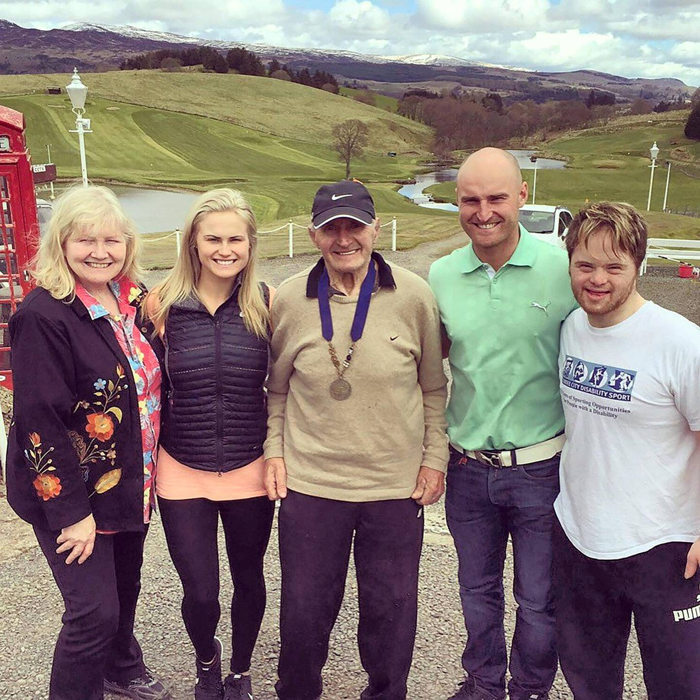 This is a family pic. Mum (Pauline Booth) me dad (Wally Booth) brother (Wallace) brother (Paul) my dad won a silver medal at commonwealth games for Olympic wrestling 2016 marked 50 years ago.