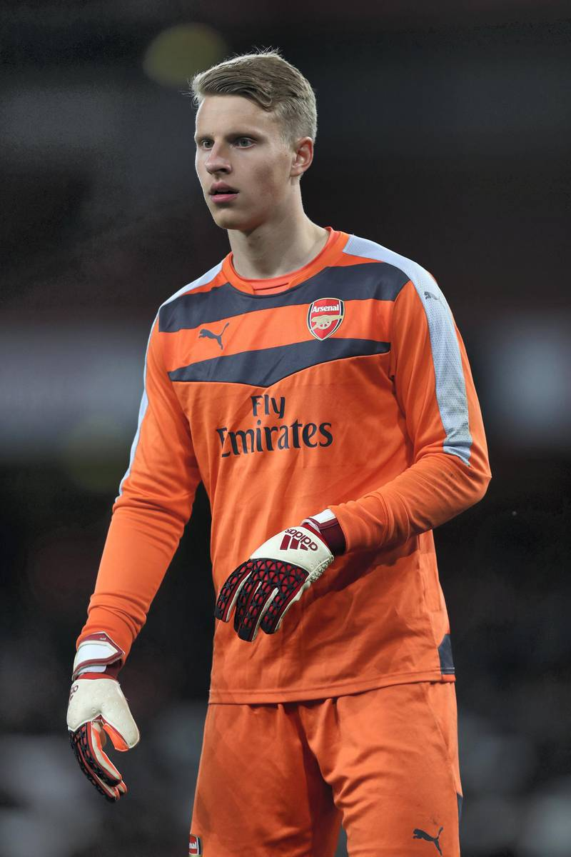 LONDON, ENGLAND - APRIL 04:  Hugo Keto, goalkeeper of Arsenal during the FA Youth Cup semi-final second leg match between Arsenal and Manchester City at Emirates Stadium on April 4, 2016 in London, England.  (Photo by Julian Finney/Getty Images)