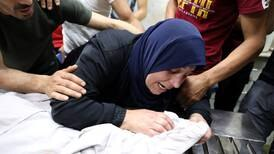 Palestinian injured at funeral of boy killed by Israel troops in West Bank