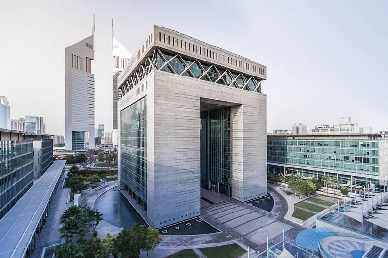 DIFC District. Courtesy Dubai International Financial Centre Authority