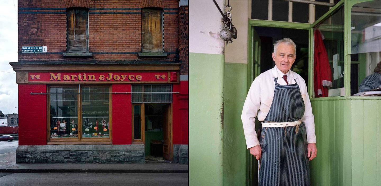 Patrick Gallagher of Martin+Joyce's butcher shop, Benburb Street, Dublin