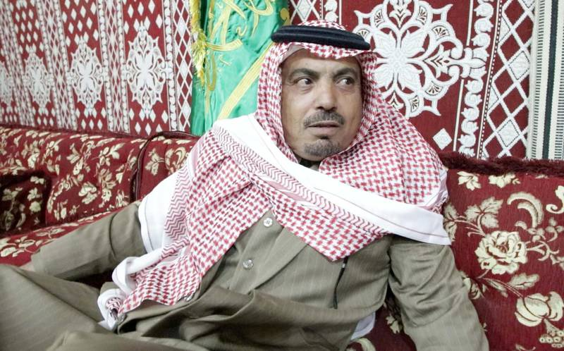 Sheikh Al Hammash Al Faqeer is the leader of the Al Faqeer tribe. He is excited at Saudi Arabia's cultural expansion. Suhail Rather/TheNational
