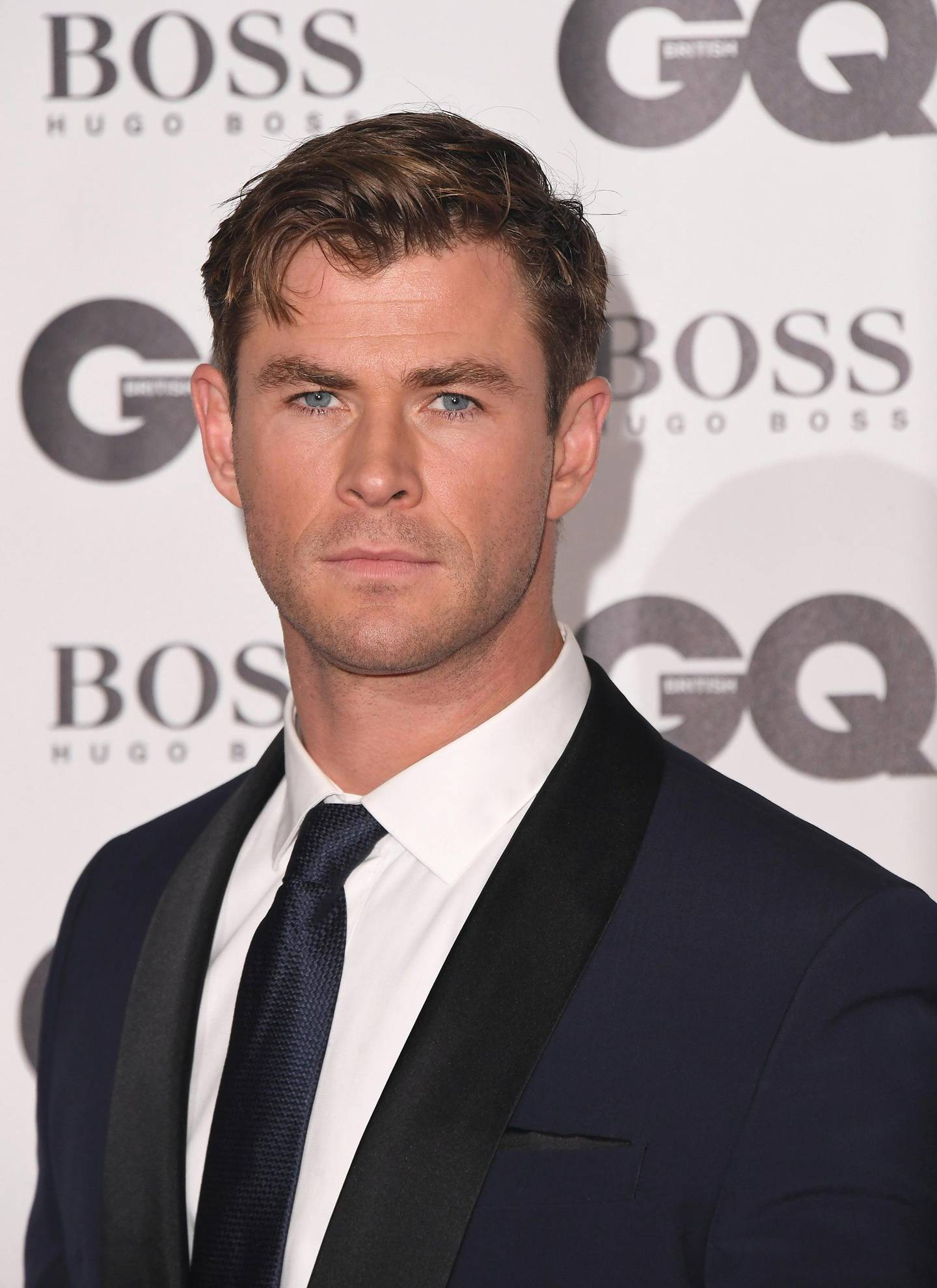 LONDON, ENGLAND - SEPTEMBER 05:  Chris Hemsworth attends the GQ Men of the Year awards at the Tate Modern on September 5, 2018 in London, England.  (Photo by Stuart C. Wilson/Getty Images)