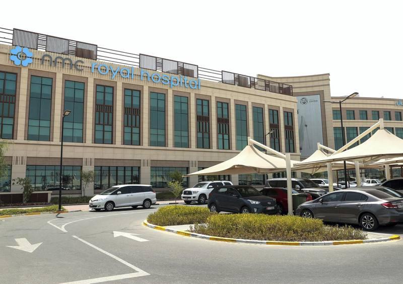 Abu Dhabi, U.A.E., June 21, 2018.  NMC Royal Hospital, Khalifa City.Victor Besa / The NationalFor:  Stock photos