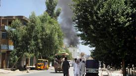 Six-year-old Afghan girl orphaned in ISIS attack