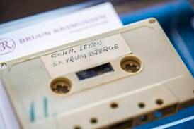 Rare tape of John Lennon and Yoko Ono to go on sale in Denmark