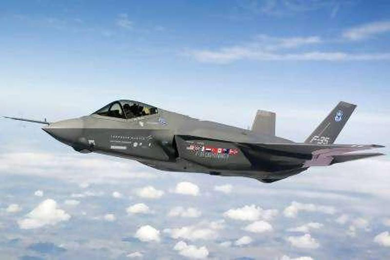 An F-35 Lightning II fighter jet makes a test flight over Fort Worth, Texas, U.S., on Sept. 5, 2008. Israel wants to buy as many as 75 Lockheed Martin Corp. F-35 Lightning II fighter jets from the U.S. for as much as $15.2 billion, the Pentagon agency responsible for foreign sales said today. Source: Lockheed Martin/US Air Force via Bloomberg News