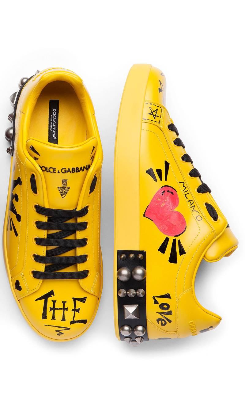 Dolce & Gabbana sneakers. Courtesy Dolce & Gabbana