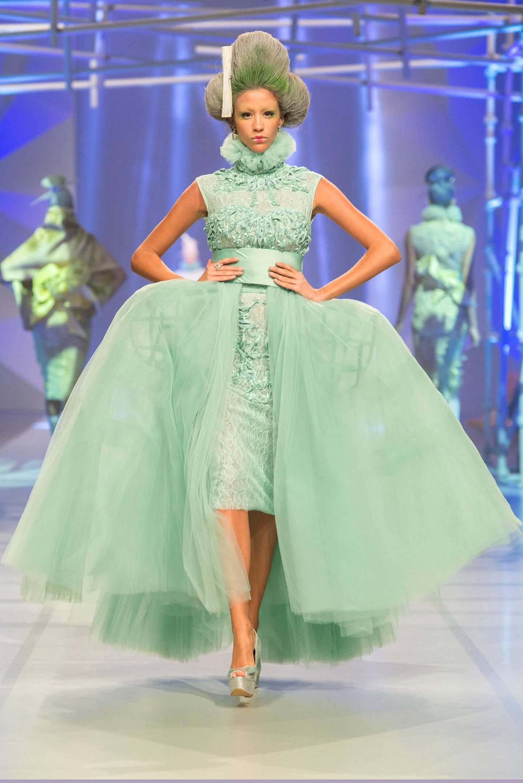 The Amato by Furne One Fashion Show, Dubai, Oct. 2013 CREDIT: Courtesy Fashion Forward *** Local Caption ***  al20oc-fash-Amato-2.jpg