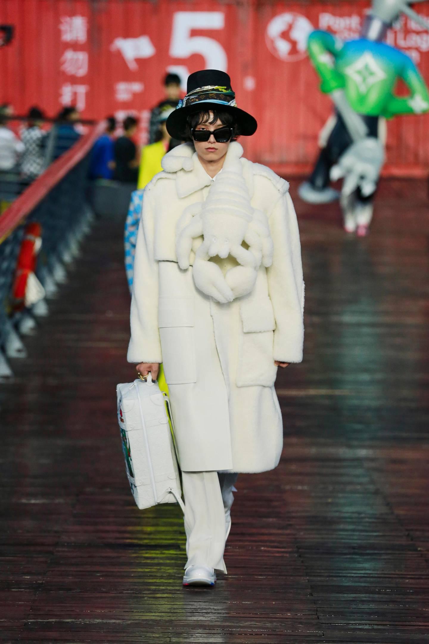 Louis Vuitton menswear spring summer 2021. Courtesy Louis Vuitton