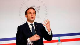 Emmanuel Macron says pandemic has taught us how vulnerable humanity is