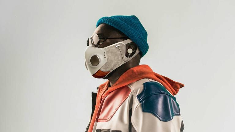 An image that illustrates this article Superhero-inspired smart face mask could be future of PPE technology
