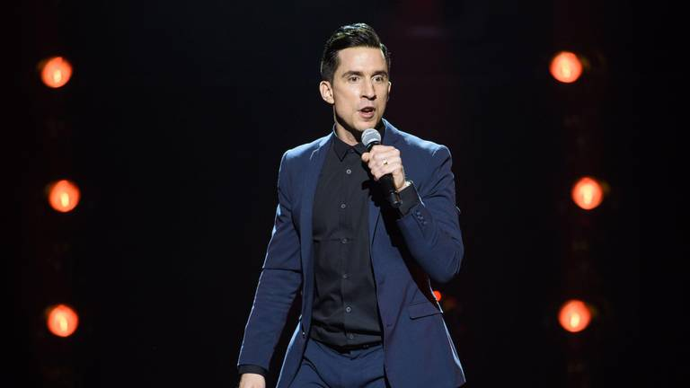 An image that illustrates this article Why comedian Russell Kane is 'buzzing like a bee on Berocca' for his show in Dubai