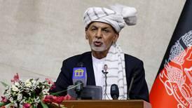 UAE says Ashraf Ghani is in the country