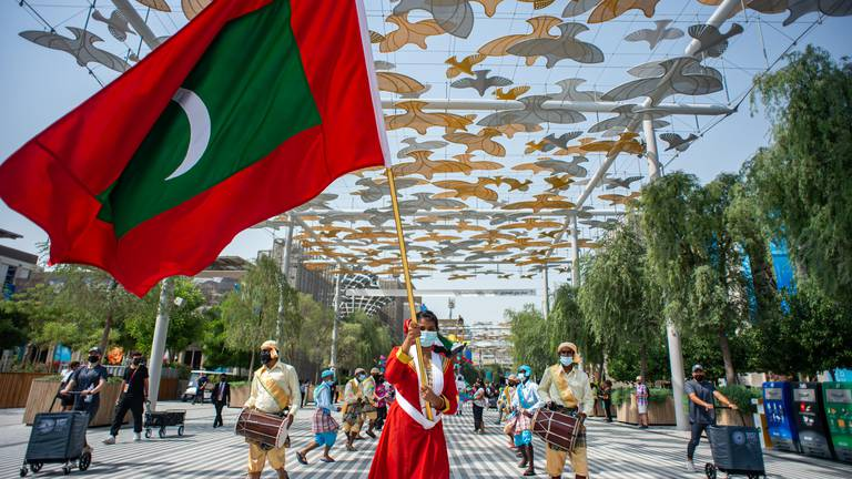 An image that illustrates this article Maldives national day at Expo 2020 Dubai – in pictures