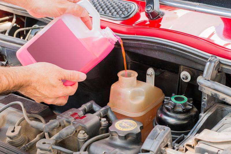 GD036X car coolant service in engine