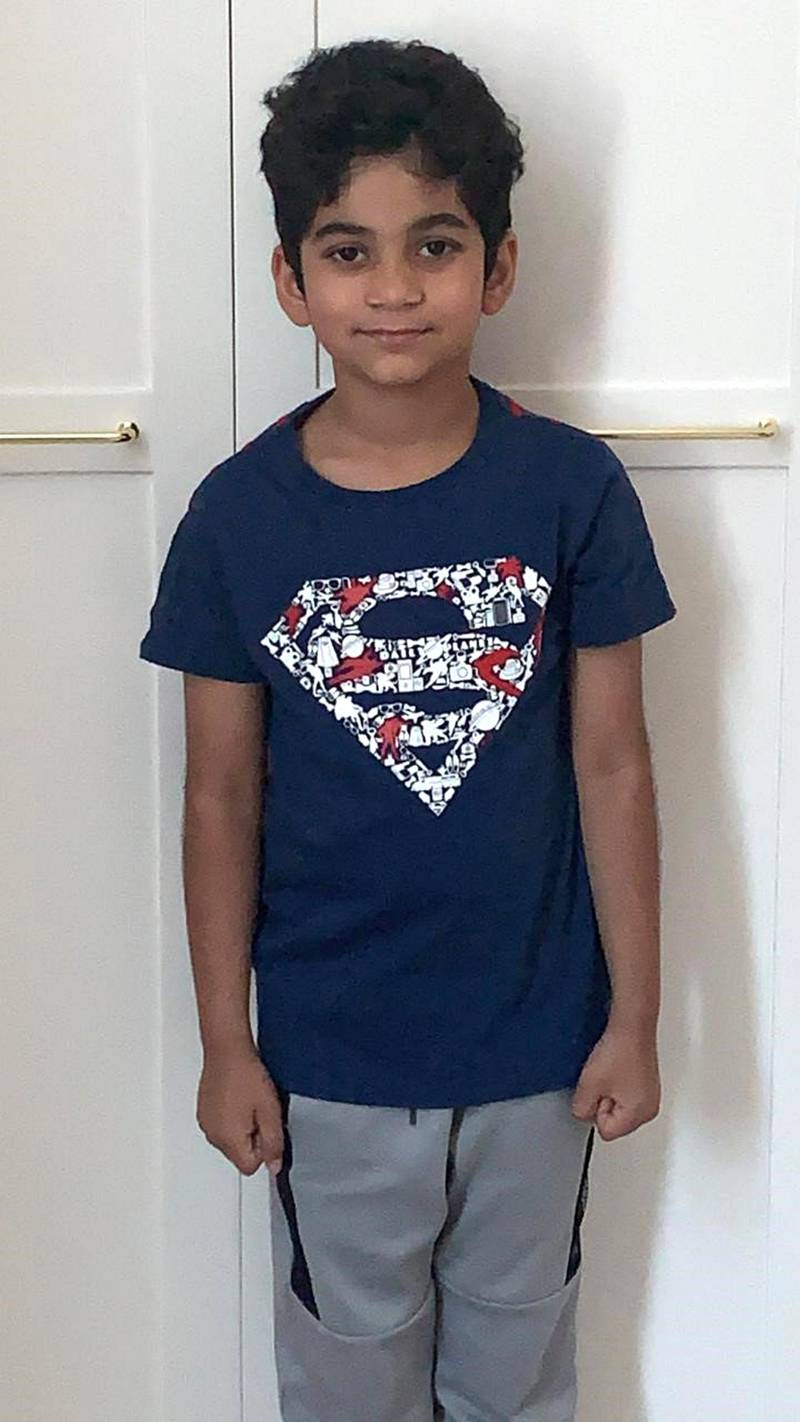 Abdullah Zamir Kazi, a 10-year-old pupil at India International School Sharjah died due to injuries suffered in an accident. Courtesy: India International School Sharjah