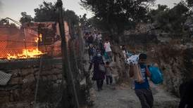 Depression and anxiety but little change at Greek migrant camps a year after Moria fire
