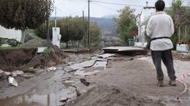Floods hit Greece's Evia weeks after deadly wildfires