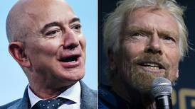 Richard Branson pushes past Elon Musk and Jeff Bezos in billionaire space race