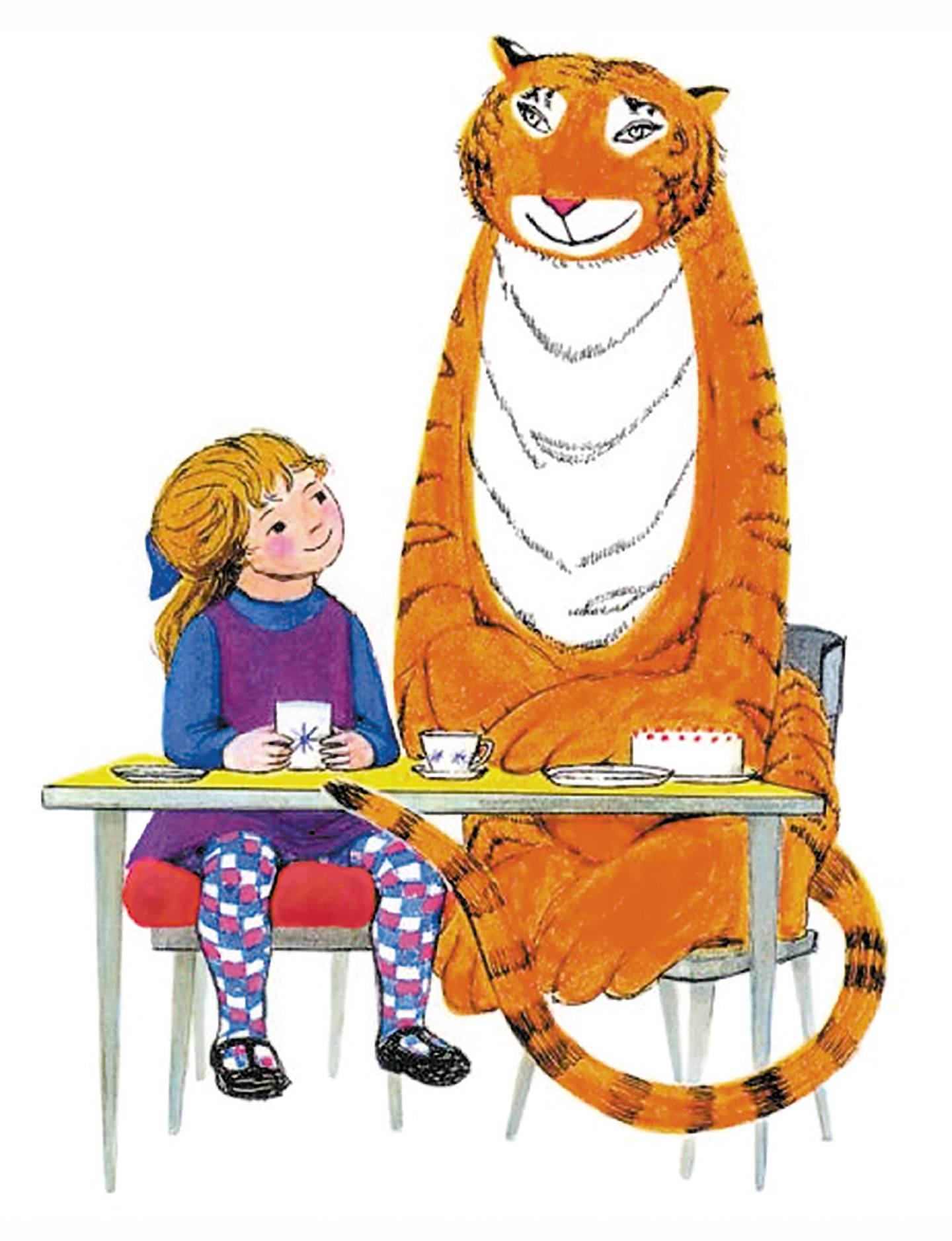 Handout of The Tiger who Came to Tea. Courtesy of Kenny Wax Family Entertainment *** Local Caption ***  Tiger.jpg