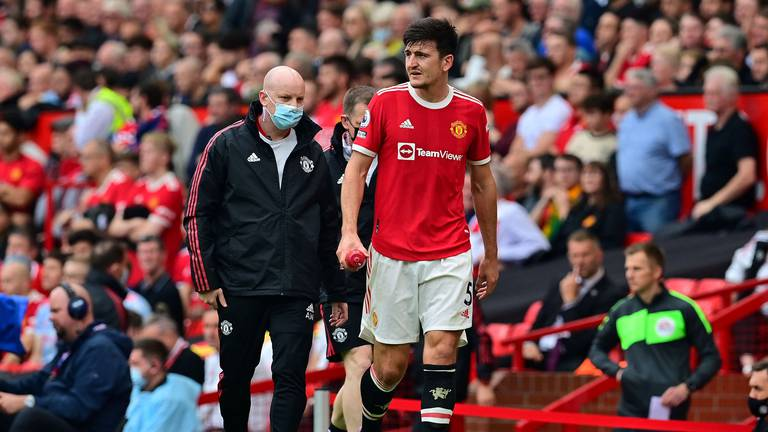 An image that illustrates this article Maguire injury blow for Man United ahead of vital Villarreal clash