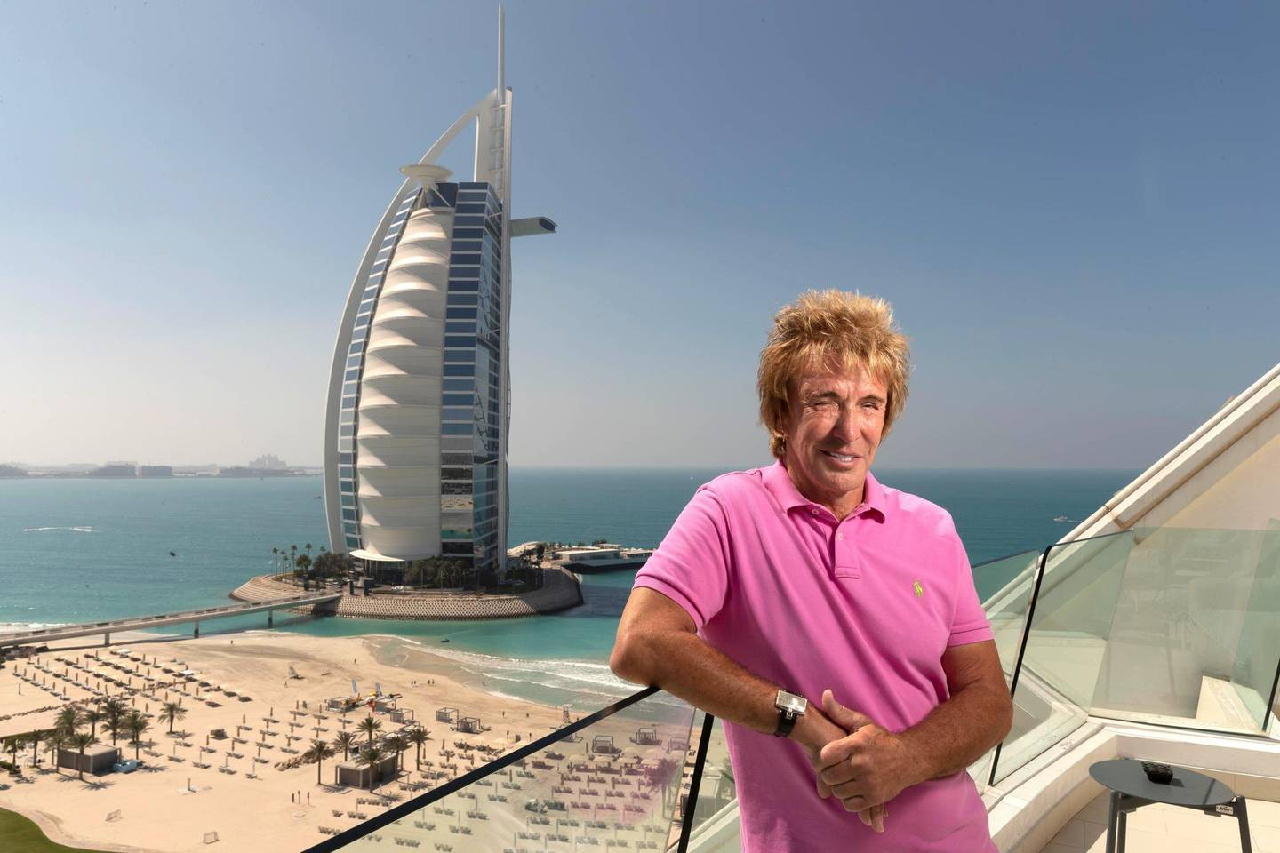 DUBAI, UNITED ARAB EMIRATES. 08 MARCH 2021. British millionaire plumber, Charlie Mullins, has started a new business venture in Dubai. (Photo: Antonie Robertson/The National) Journalist: Kelly Clarke. Section: National.