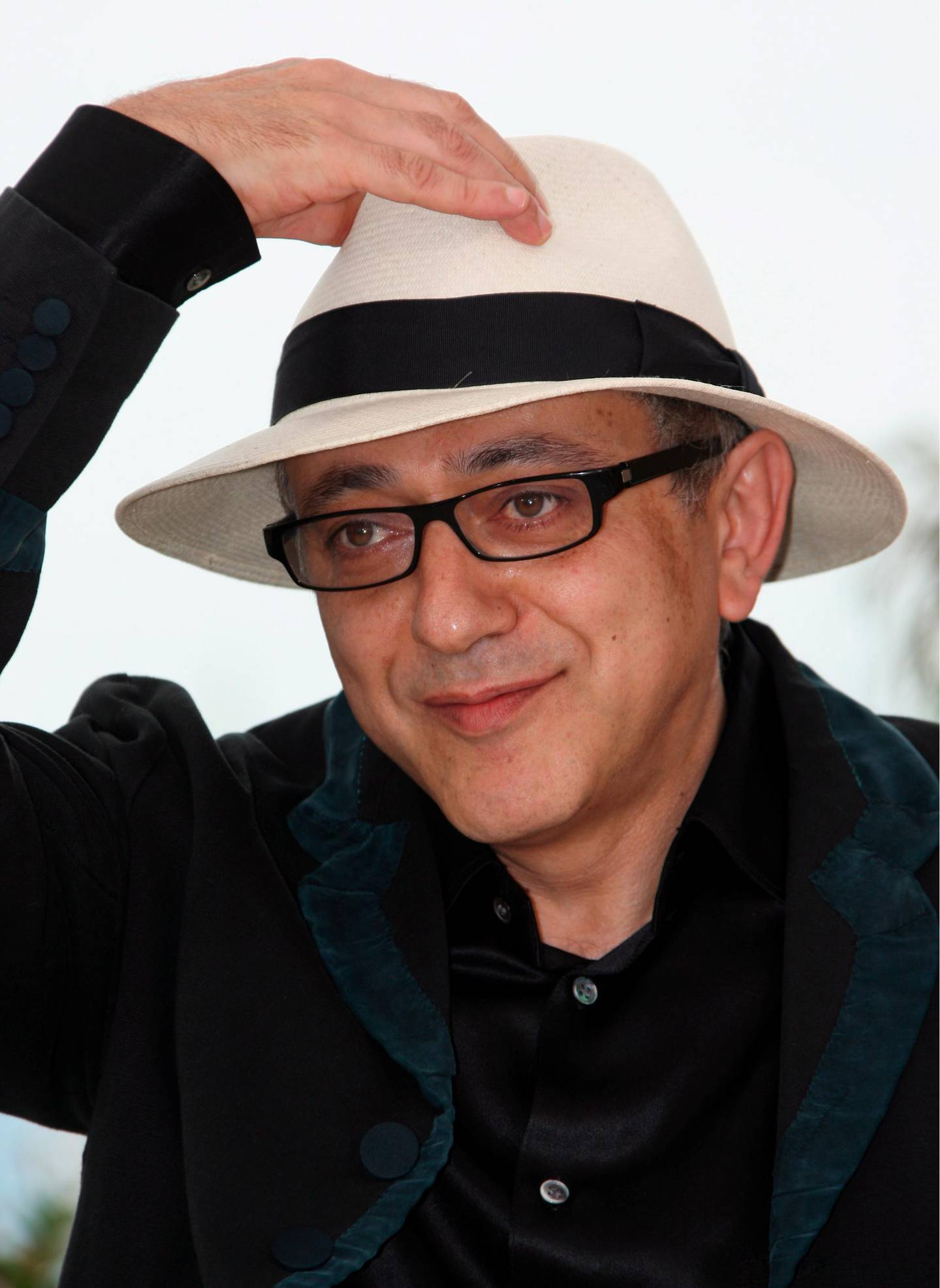 epa07513446 (FILE) - Palestinian director Elia Suleiman,  attends the photocall for the film 'The Time that Remains'  in the 62nd edition of the Cannes film festival in Cannes, France, 22 May 2009. (reissued 18 April 2019) His movie 'It Must be Heaven' will be presented in the official selection at the 72nd annual Cannes Film Festival, it was announced on 18 April 2019.  EPA/GUILLAUME HORCAJUELO *** Local Caption *** 54258848