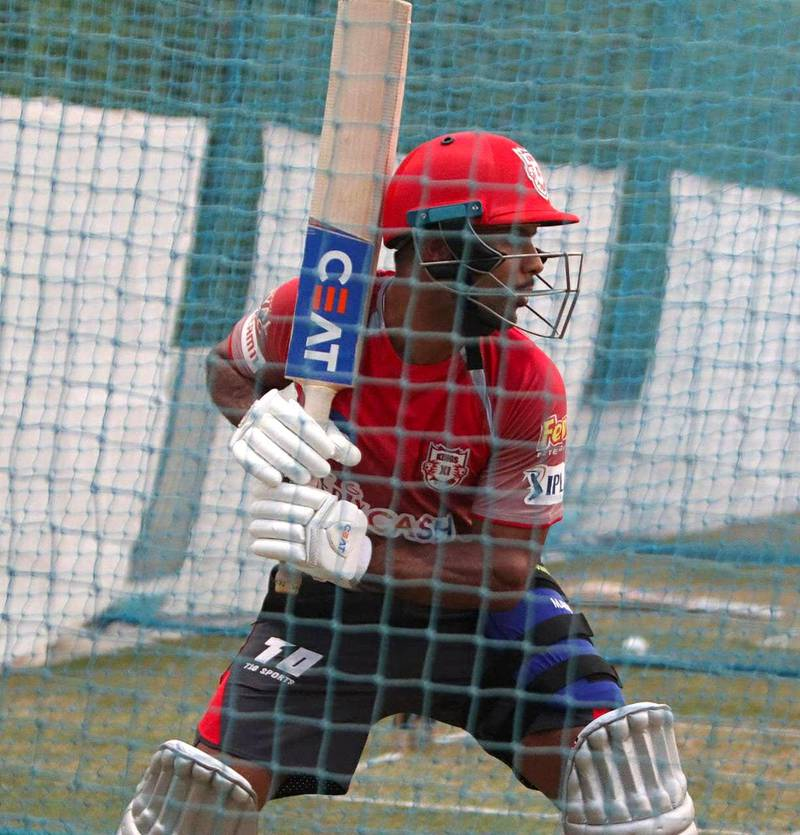 Mayank Agarwal began training at the ICC Academy in Dubai. Courtesy Mayank Agarwal twitter / @mayankcricket