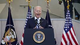Biden says US democracy facing biggest test since Civil War